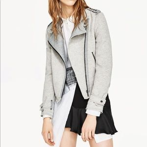 Zara basic collection Moto jacket blazer